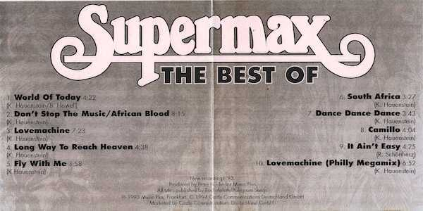 Supermax – The Best Of