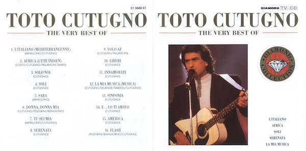 Toto Cutugno – The Very Best Of